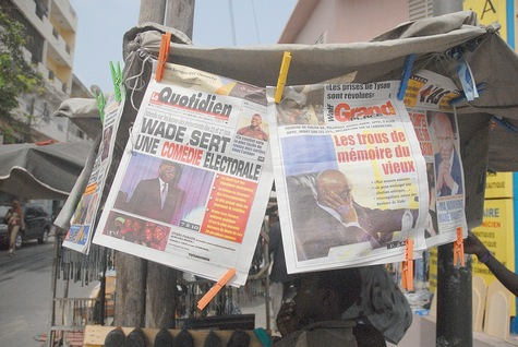 2011/07/15. Senegalese papers report on President Wade's address.