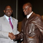 Senegalese opposition candidate Macky Sa