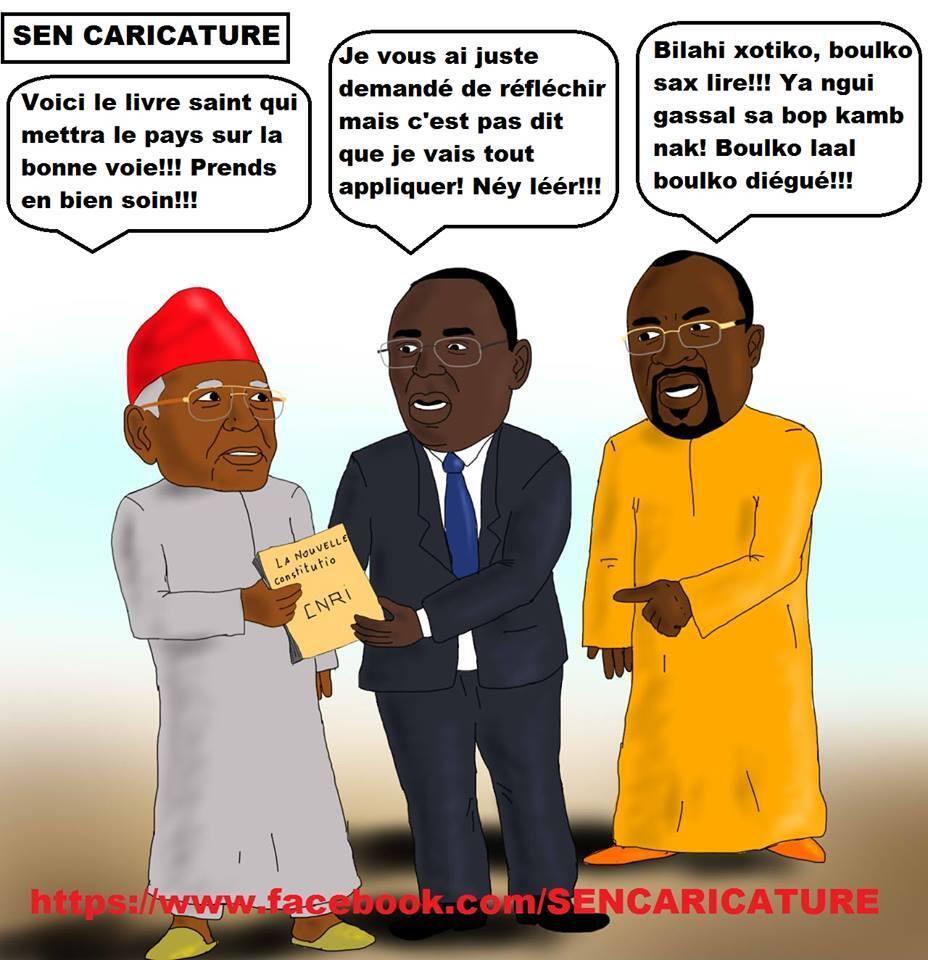 Caricature Le Livre Saint Qui Brule Deja Des Mains Le