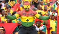 Supporters Ghana