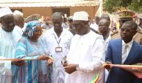 inauguration officielle de l'hopital de la paix de ziguinchor par le pr macky 4
