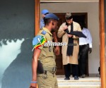 verdict du proces de karim - depart de wade pour le palais de justice 3