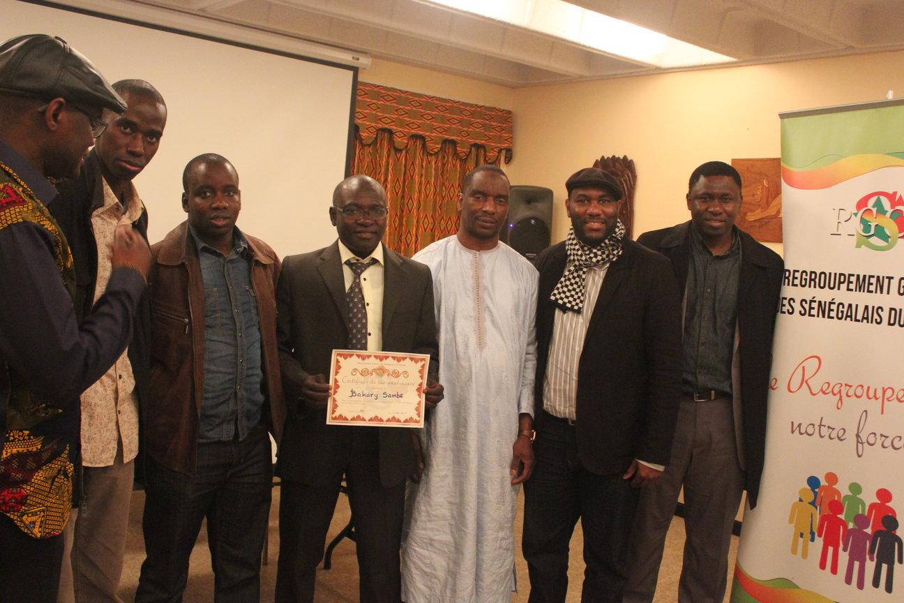 Dr Bakary Sambe avec le rgsc