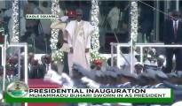 buhari sworn in