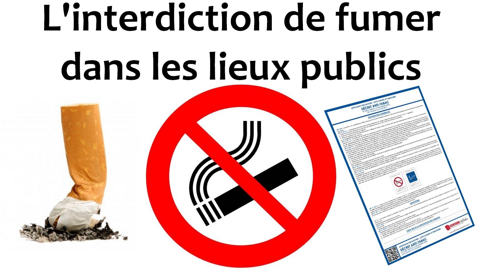 Lutte Contre Le Tabac Interdiction Formelle De Fumer D Sormais Dans