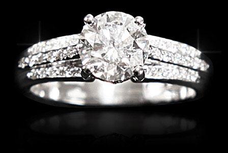 Bague diamant pour femme