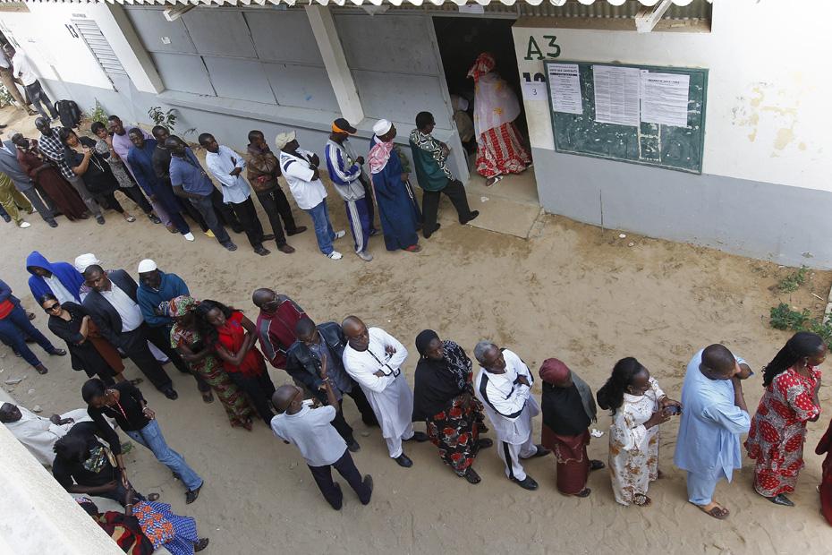 Keur massar les opérations de vote se déroulent normalement
