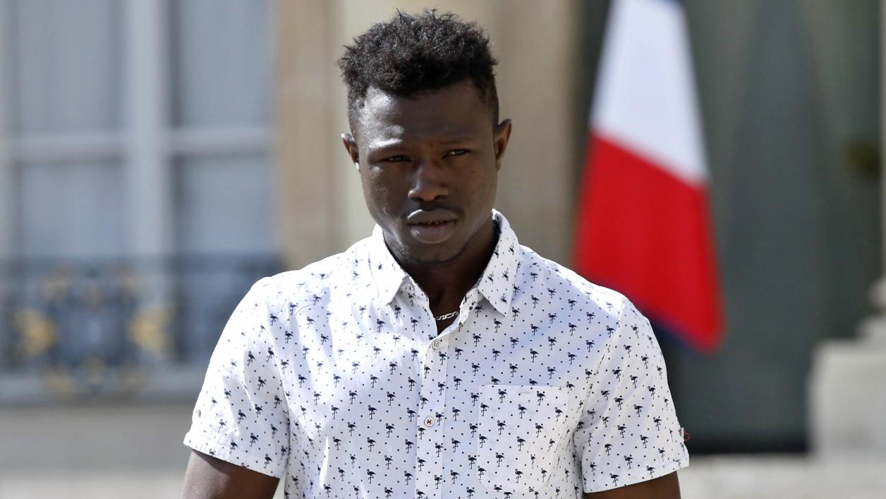 Mamadou Gassama récompensé par les Etats-Unis pour son geste héroïque