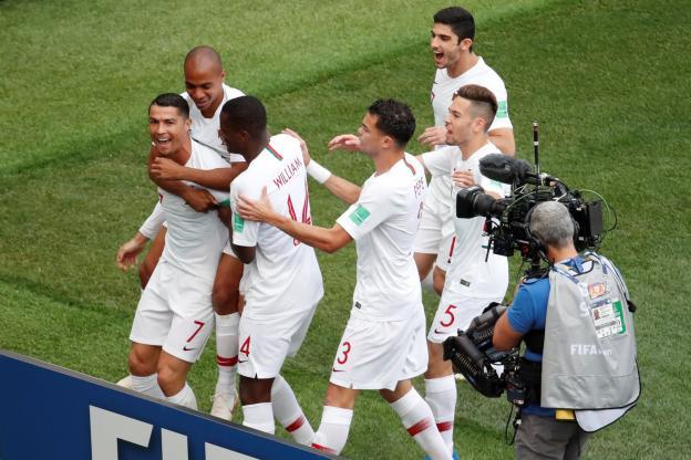 SPORTSMondial 2018ACTUALITESLe Portugal vainqueur le Maroc déjà éliminé 20 juin 20180