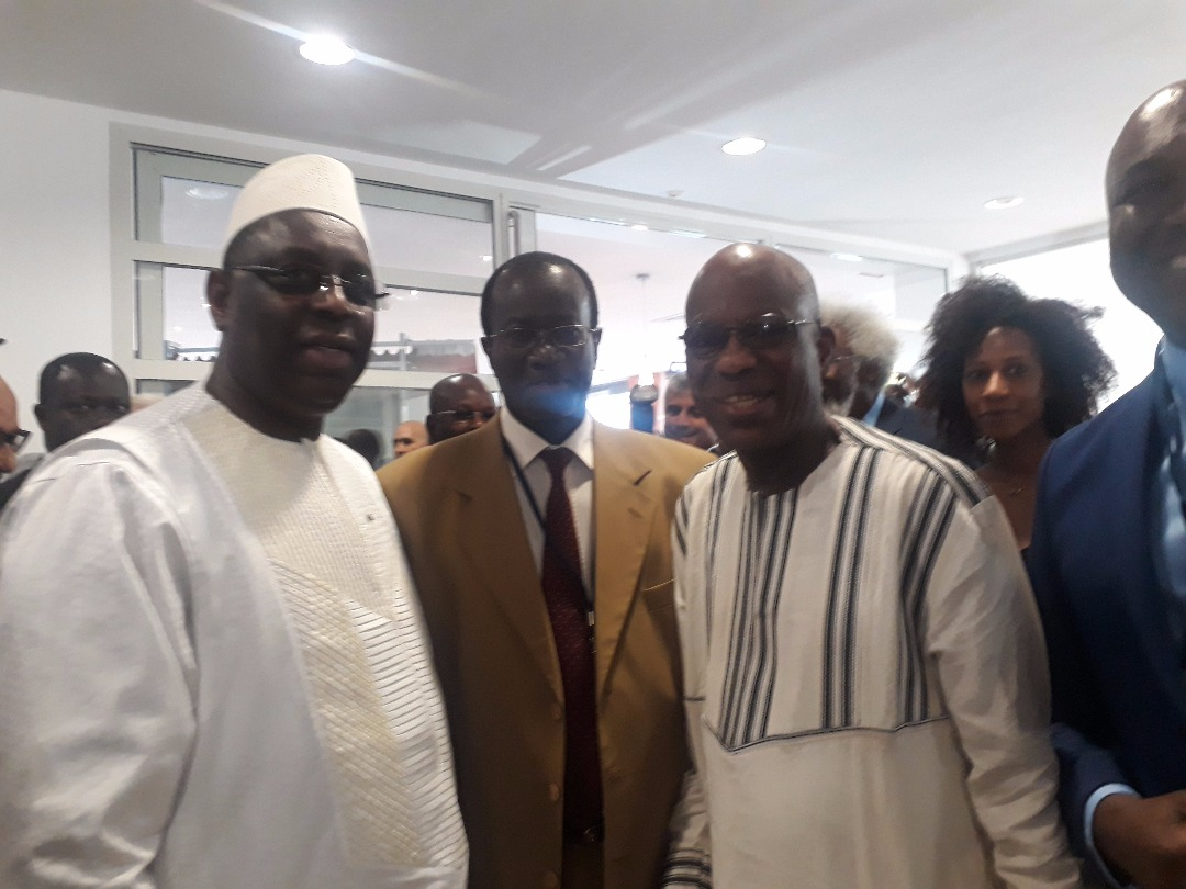 Grand Prix Africain De La Poésie Le Président Macky Sall