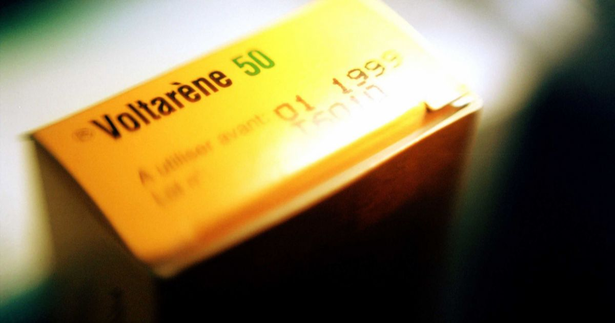 L'anti-douleur qui fait mal à la santé — Voltarène (ou Dicoflenac)