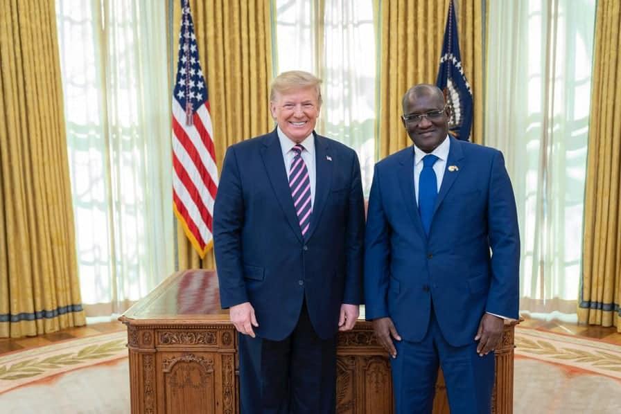 Nouvel Ambassadeur Du Senegal Aux États-unis D'amérique